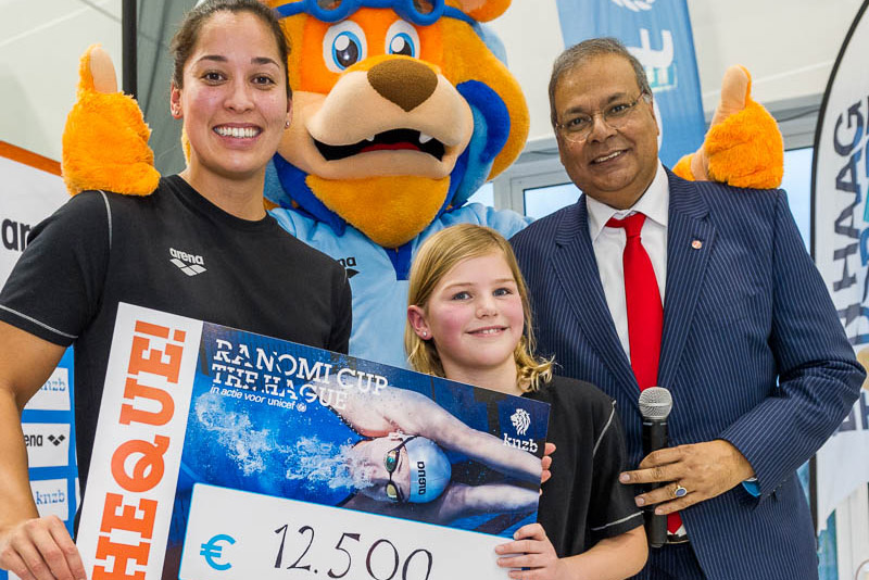 Swim Cup Den Haag start met recordregen