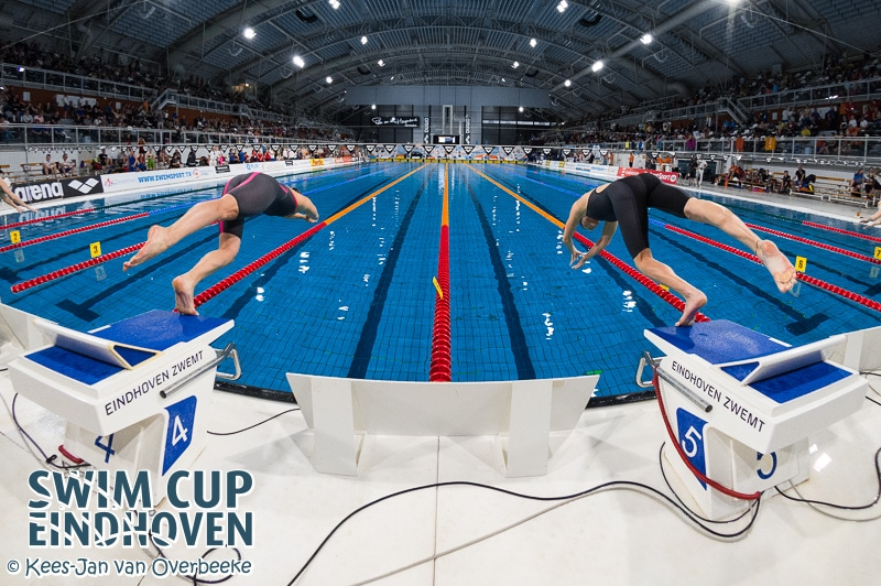 Swim Cup Eindhoven onderdeel van LEN Swimming Cup