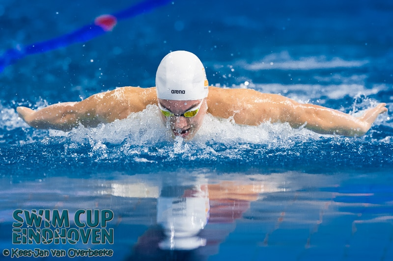 Spectaculair begin laatste dag Swim Cup