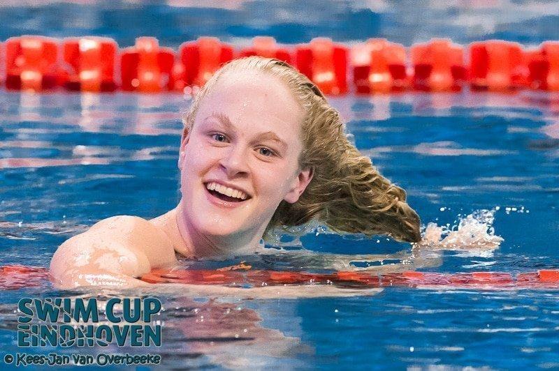 De Waard zwemt snelle tijden in de eerste ochtendsessie van Swim Cup