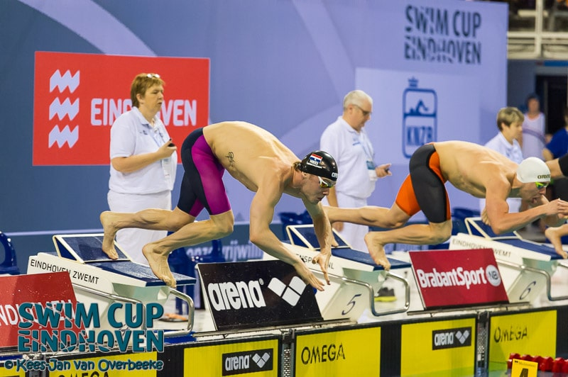 Another success for Verschuren at innovative Swim Cup