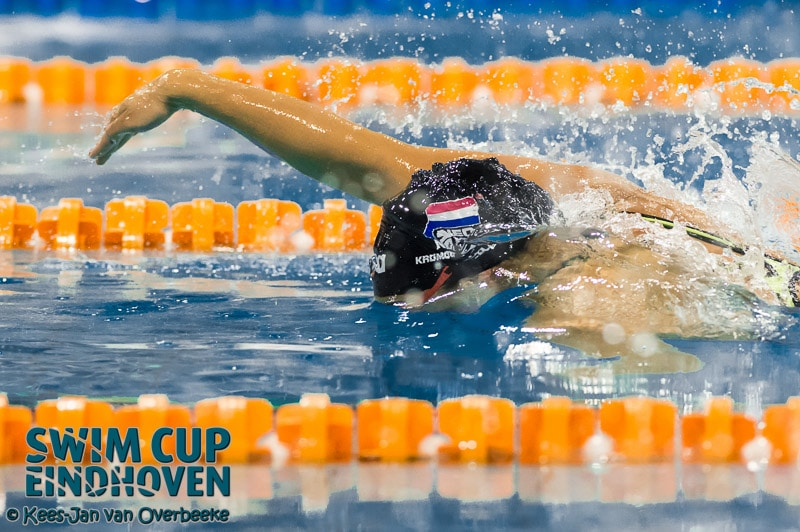 Exciting first day at the Swim cup Eindhoven