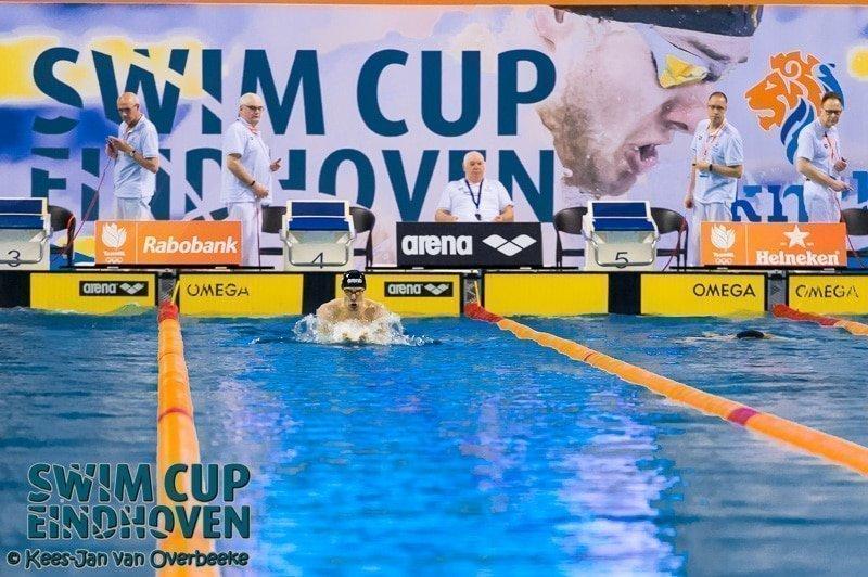 Kamminga scherpt eigen Nederlands record aan op eerste dag Swim Cup