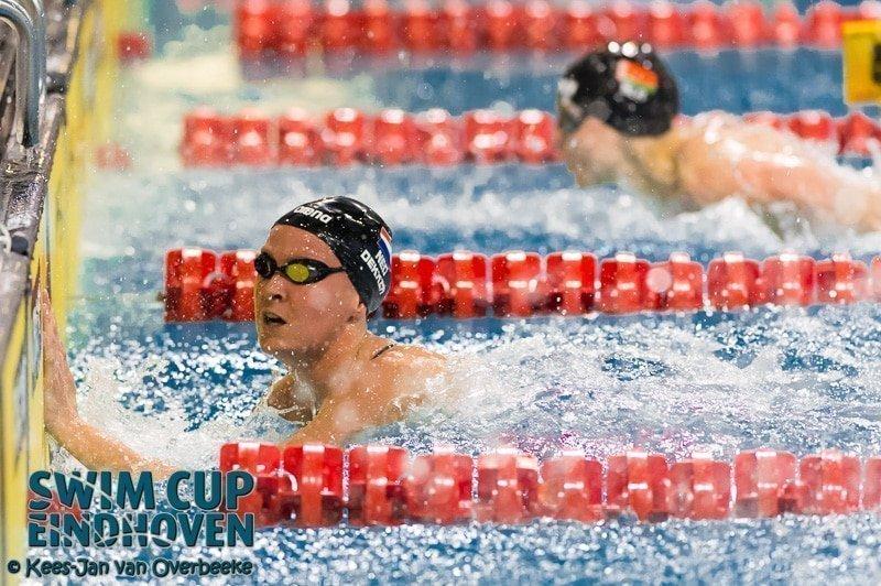 Inge Dekker niet in actie tijdens Swim Cup