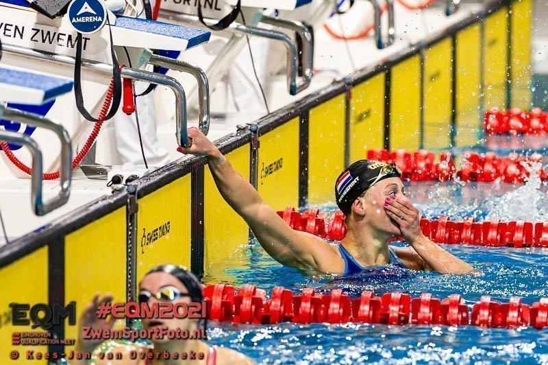 EQM dag 2 series: Kira Toussaint vestigt Europees record 50m rugslag