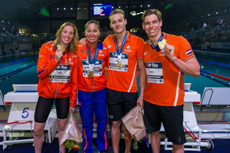 2018 FINA Swimming World Cup – Eindhoven, Finals Day 2