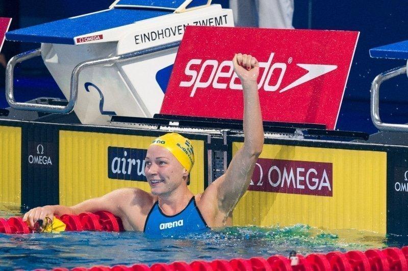 Sjöström brengt Eindhoven in extase met wereldrecord