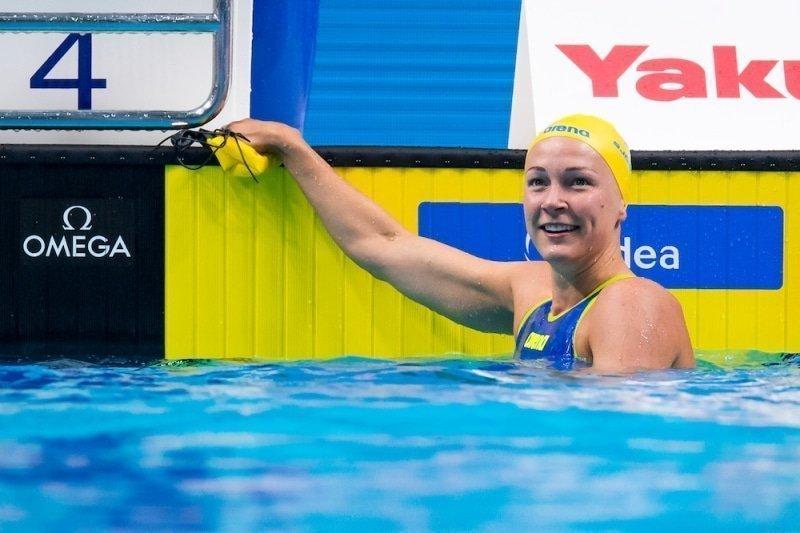 Sarah Sjöström op stoom bij opening World Cup-seizoen